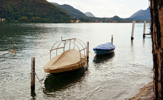 Morcote, Boats