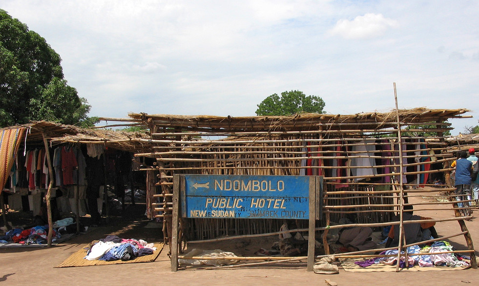 Hotel in Rumbek, (South Sudan)