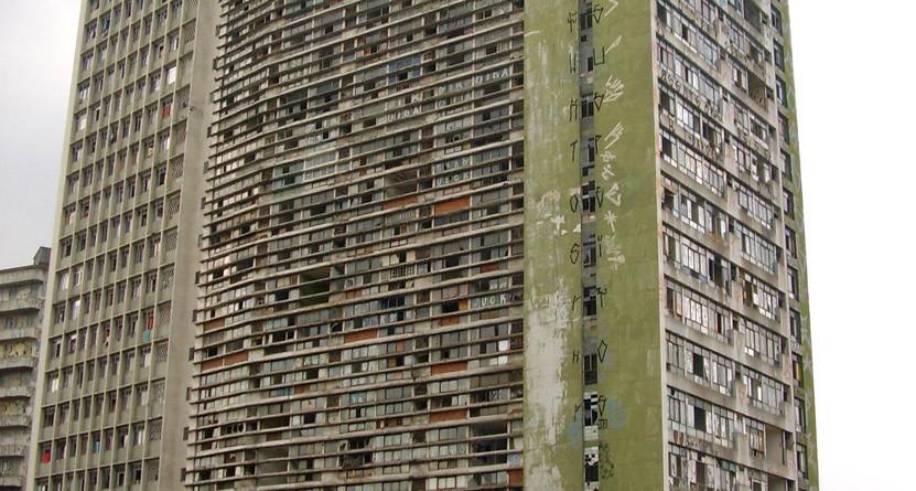 Sao Paulo, occupied building