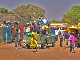 Rumbek market (South Sudan)