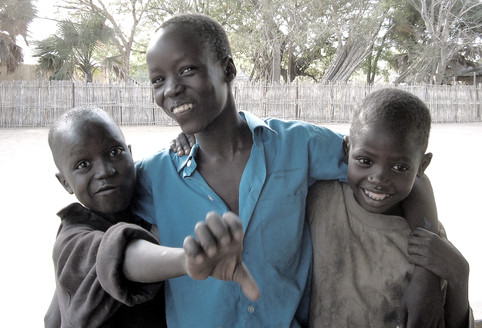 Happy day at Rumbek's Orphanage