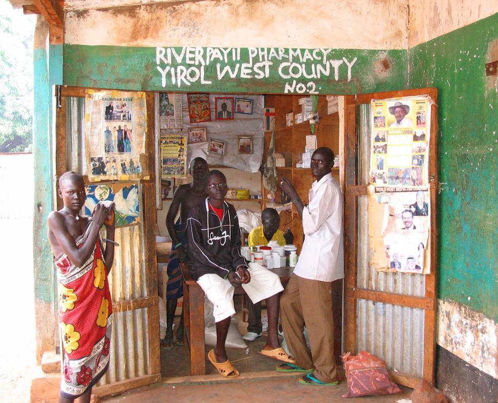 Pharmacy, Rumbek, (South Sudan)