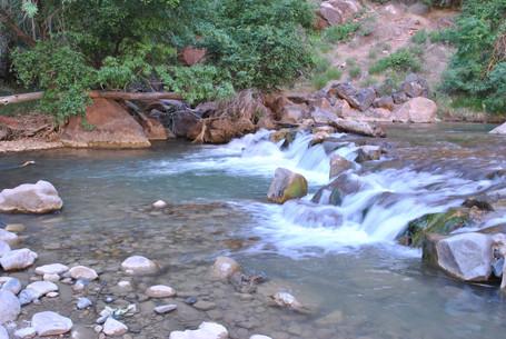 Zion Park River, USA