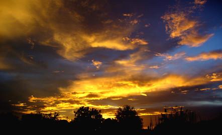 Sunset in Juba