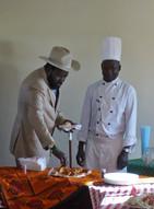 President Salva Kiir at a function