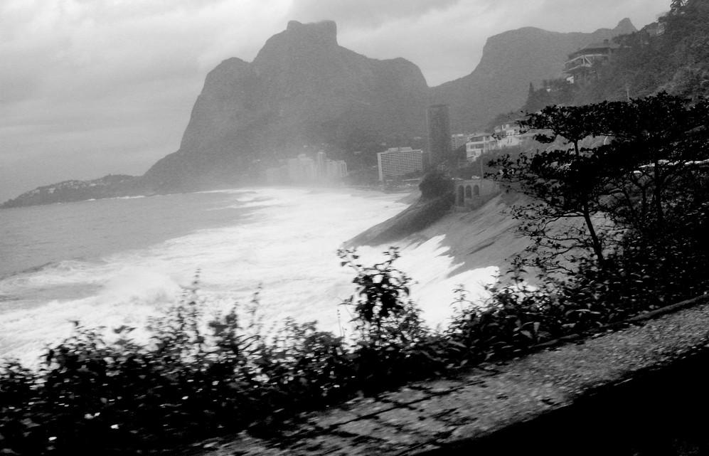 Rio de Janeiro, stormy day