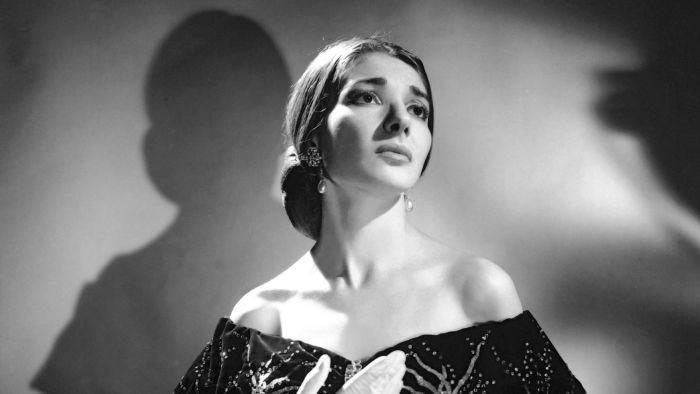 Maria Callas as Violetta in Verdi's La Traviata, Lisbon 1958