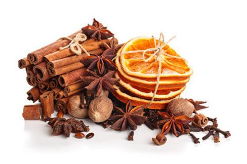 Huile aromatique épices de Noël