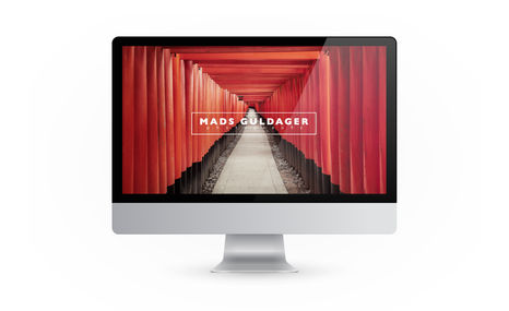 Mads Guldager Photography Website design