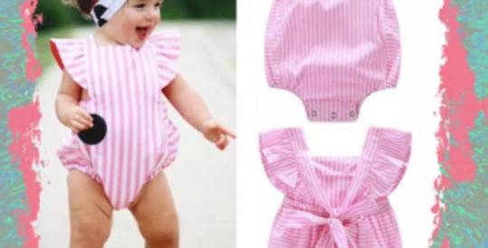 Pink Stripe Bubble