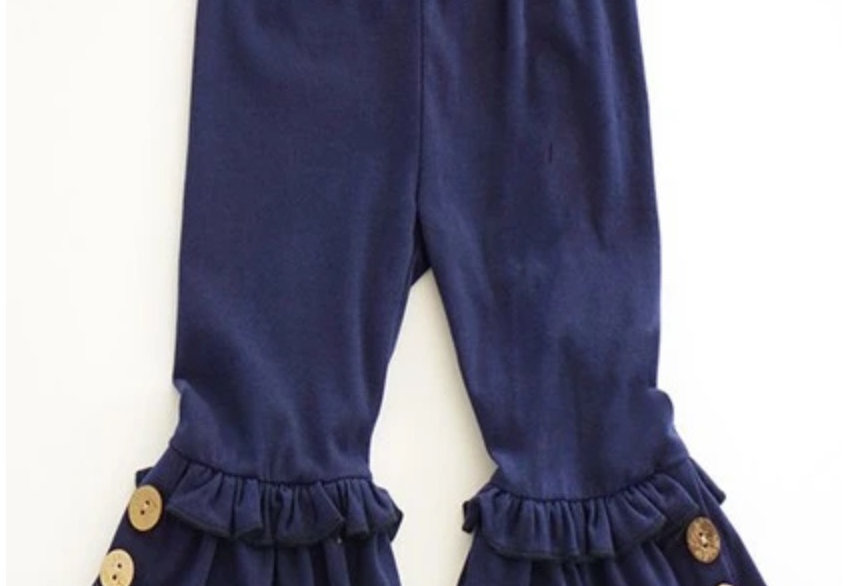 Flare Button leg Bottoms