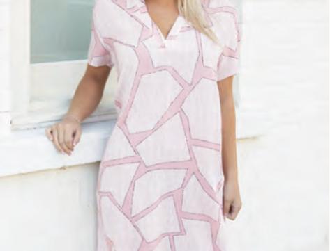 Krista Set Piece Pink Dress