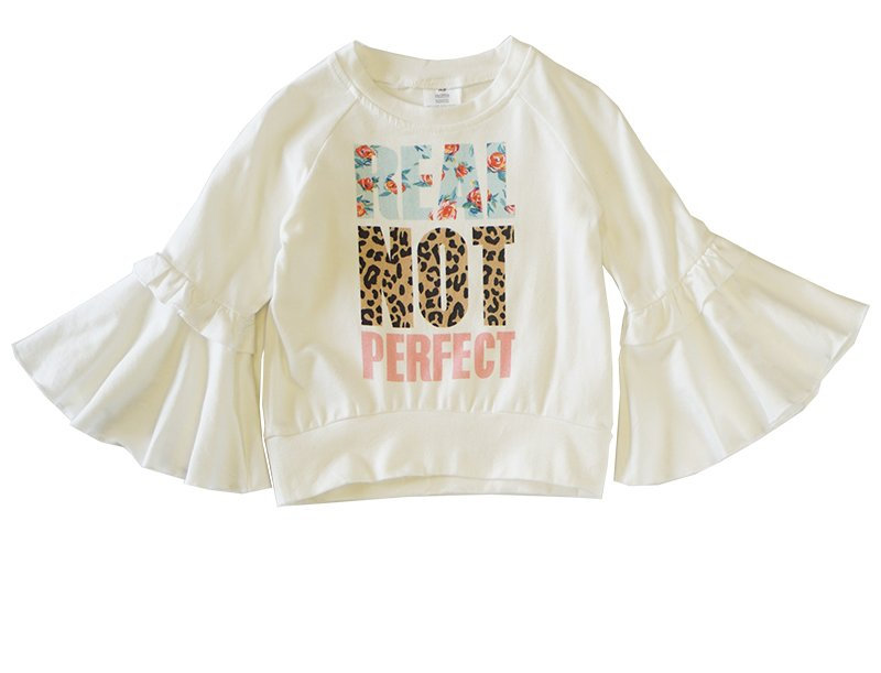 Real not Perfect Bell Sleeve top