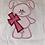 Thumbnail: Bunny with  Cross Children's Appliqué Top