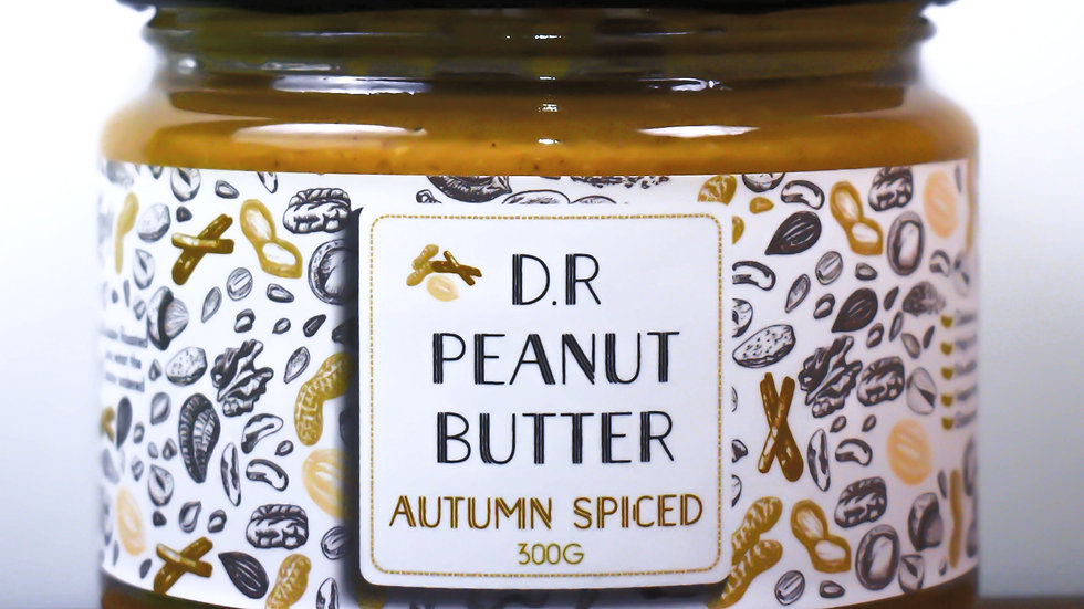 Autumn Spiced Peanut Butter