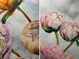 The Art Lounge NZ Exhibition 'Petals and Pods | Jenny Coker ~ Artist