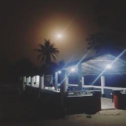 Nyamina Garden by night