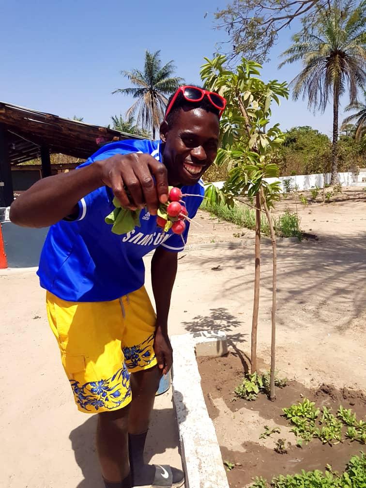 Nyamina Garden: Meet Farao