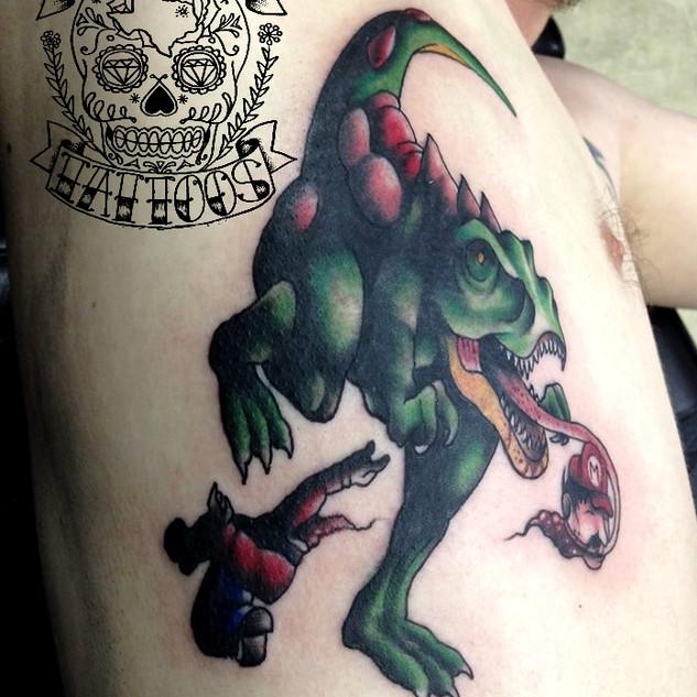 Demon Dave Raptor eating Mario.jpg