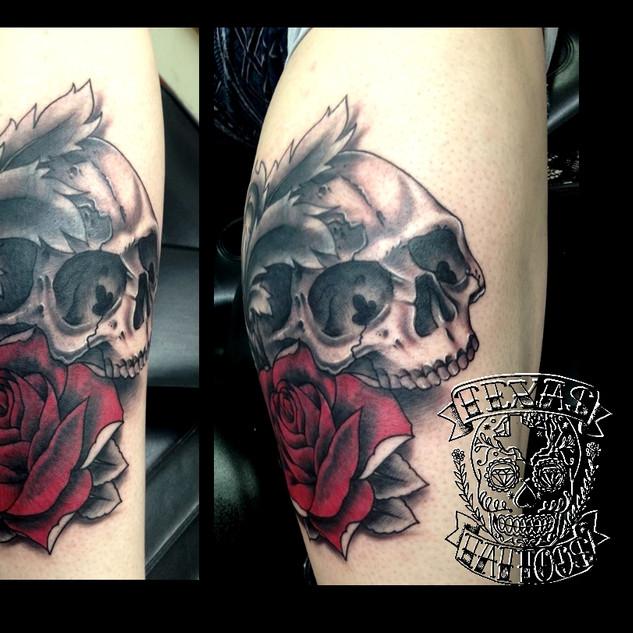 Demon Dave Single skull and rose.jpg