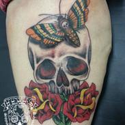Christopher Skull and Roses.jpg