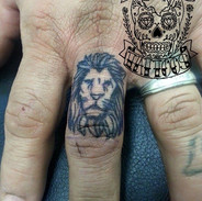 Chris Lion on finger.jpg