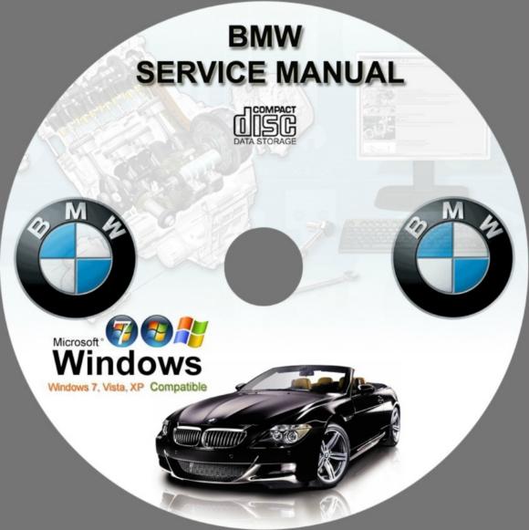 Bmw 7 series manual de taller de reparación de servicio e32 e38.