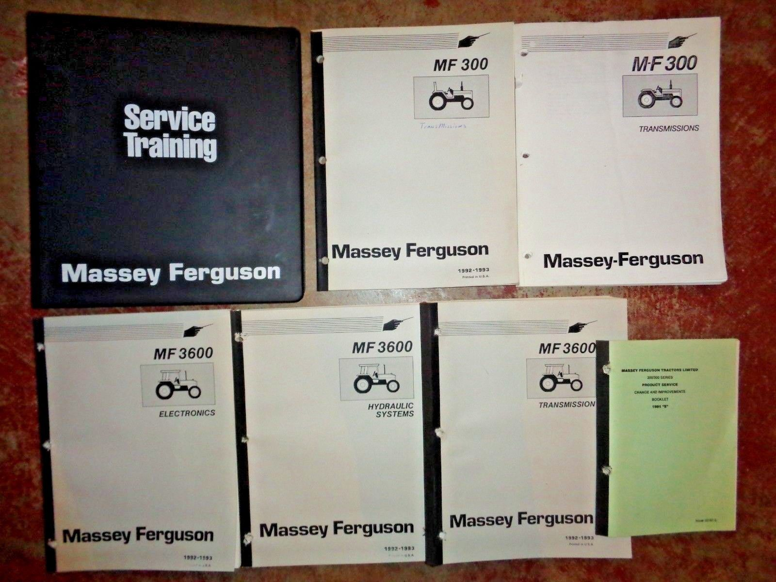 Massey-Ferguson Tractor Manuals