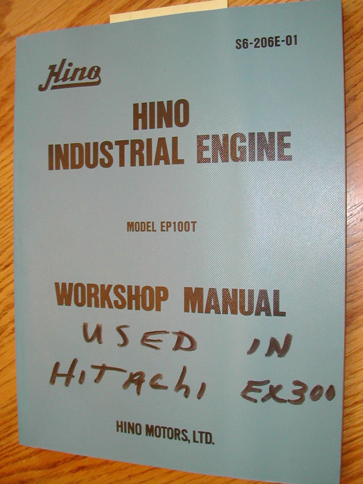 Manual taller HINO , service manuals HINO , repair manuals HINO