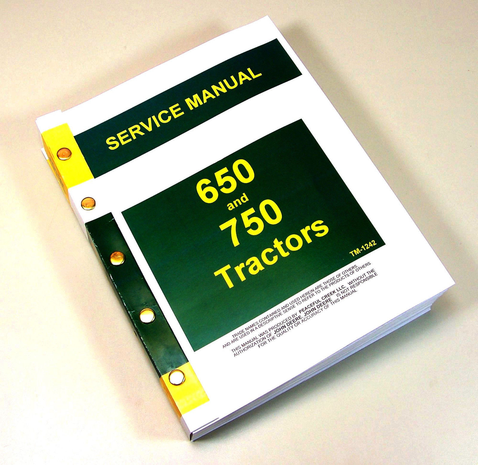 John Deere Manuales de taller Workshop Manual Technical
