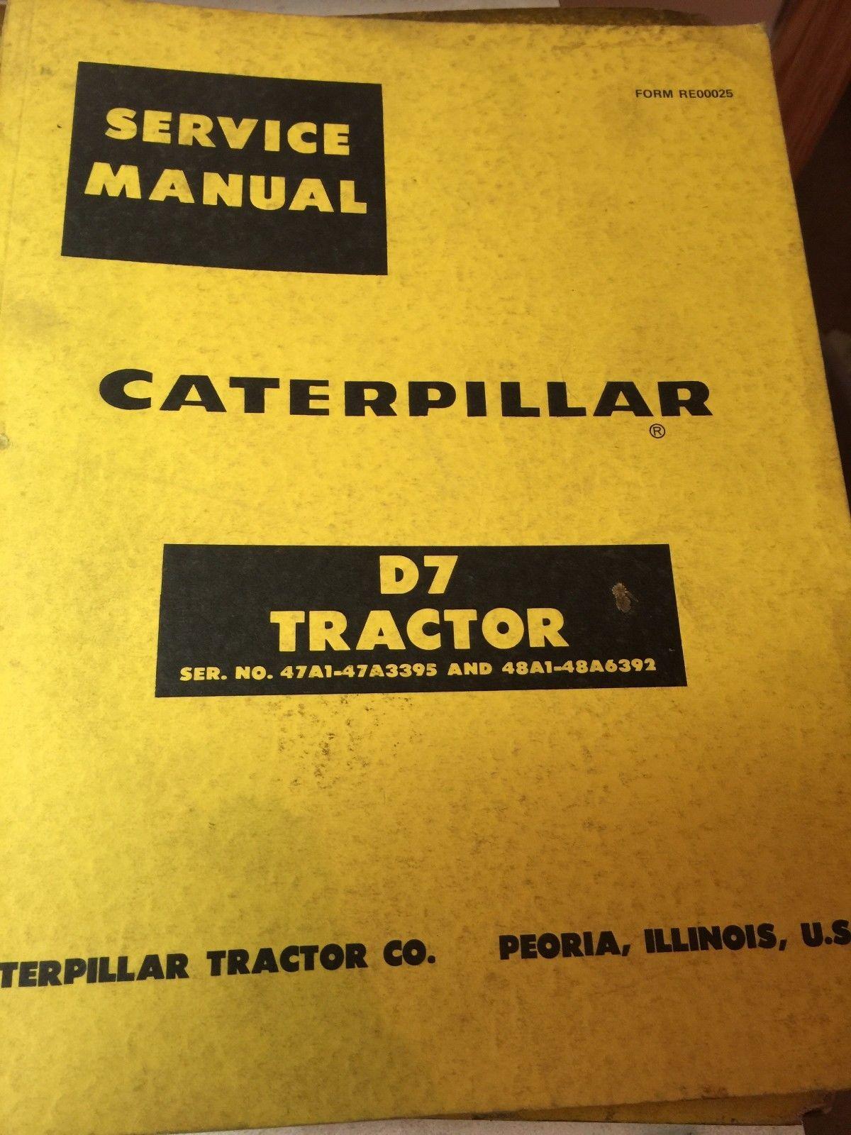 Caterpillar Manuales de taller - Repair manuals- service manuals