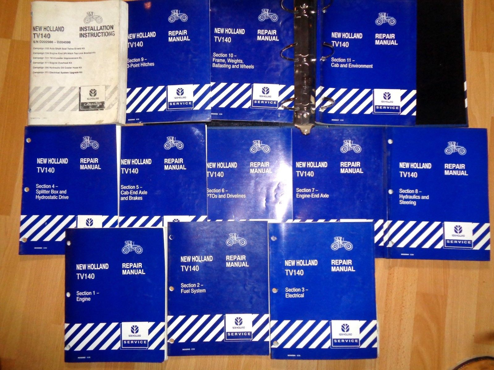 New Holland Manuales de Taller-Service Manuals - manuel reparations