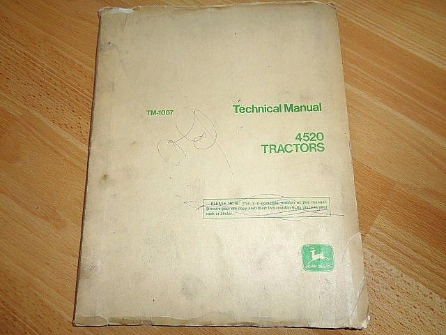 John Deere Manuales De Taller Workshop Manual Technical