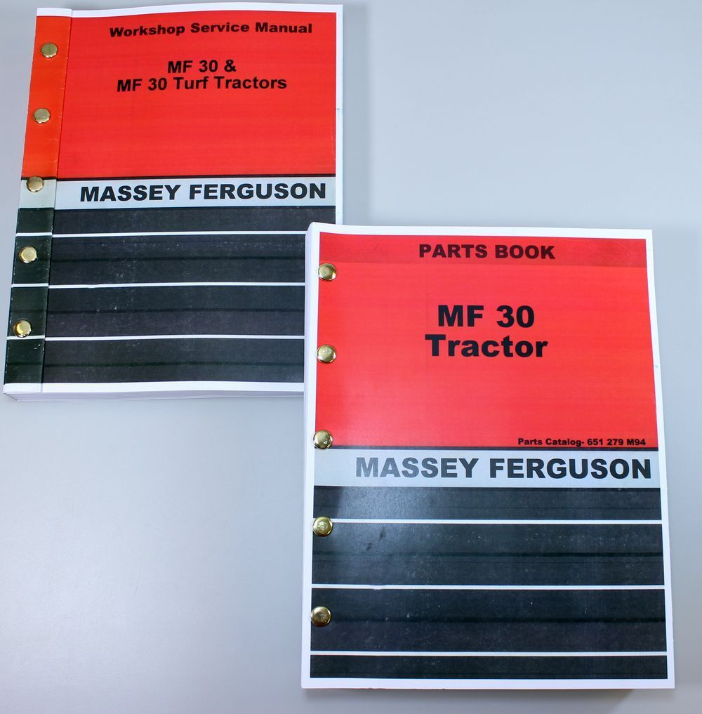 Massey Ferguson manuel réparation Manual de Taller -Service Manuals