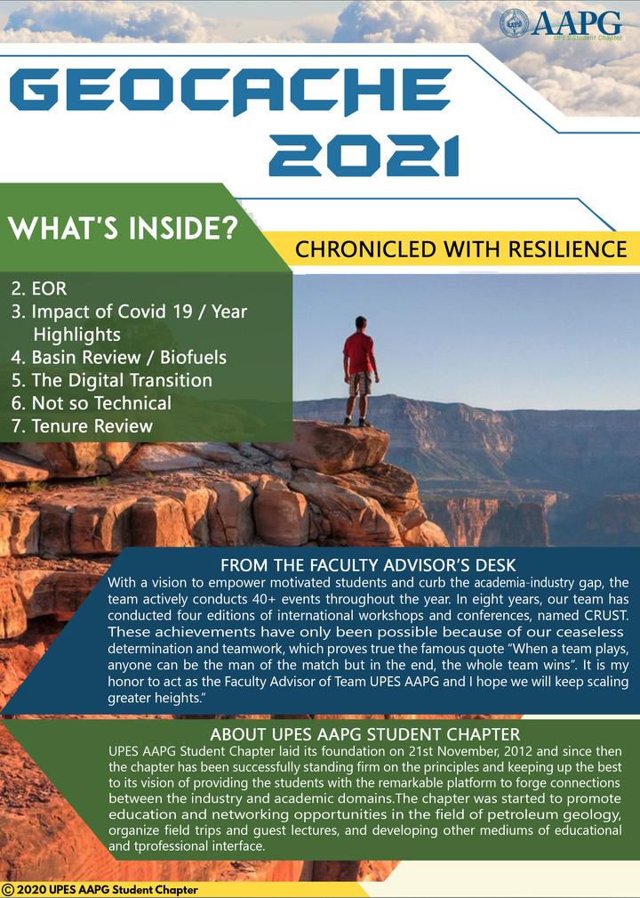 Geocache 2021 Cover
