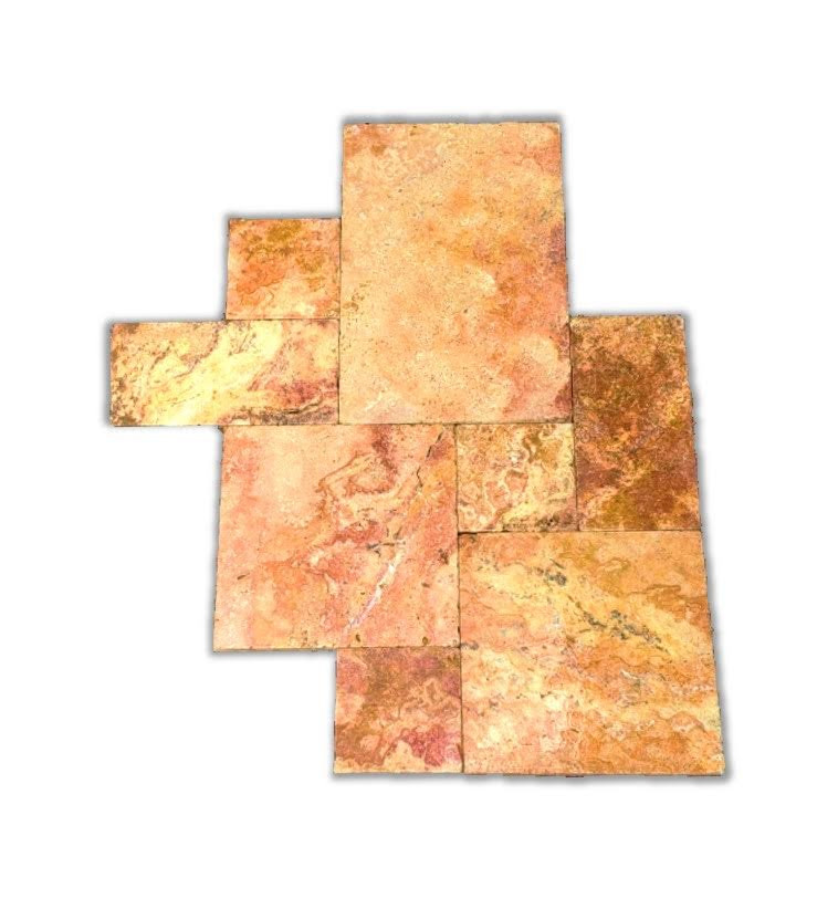 Scabos red Travertine