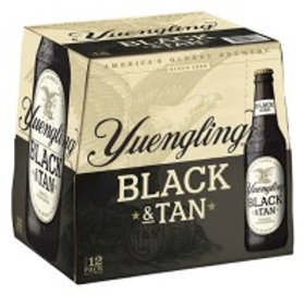Yuengling Black and Tan 12 Pack 12 oz Bottles