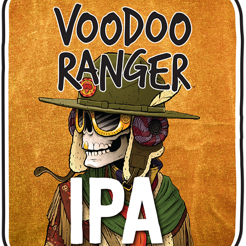 New Belgium Voodoo Ranger IPA 12 Pack 12 oz Bottles
