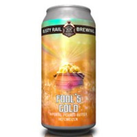 Rusty Rail Fools Gold  4 Pack 16 oz Cans