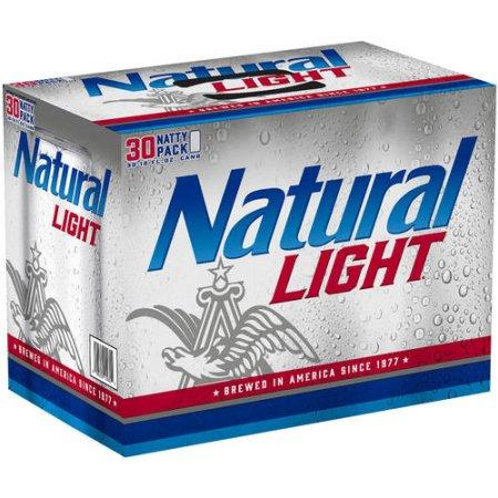 Natural Light  30 Pack 12 oz Cans