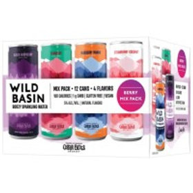 Wild Basin Berry Variety Pack 12 Pack 12 oz Cans