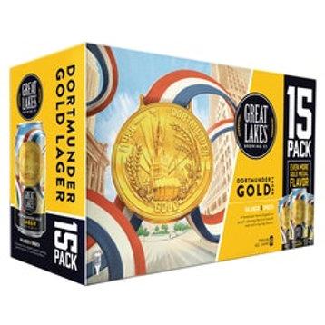 Great Lakes Dortmunder Gold 15 Pack 12 oz Cans