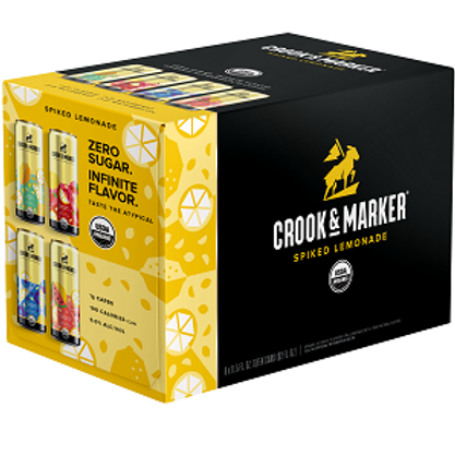 Crook & Marker Spiked Lemonade 8 Pack 11.5 oz Cans