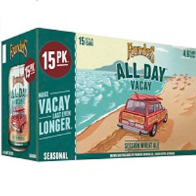 Founders All Day Vacay IPA 15 Pack 12 oz Cans