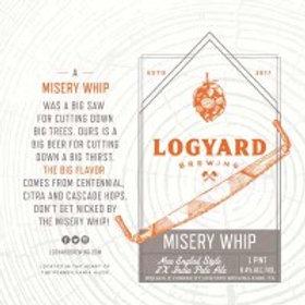 Logyard Misery Whip NE 2X IPA 4 Pack 16 oz Cans