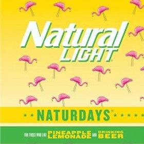 Naturdays Pineapple Lemonade 30 Pack 12 oz Cans