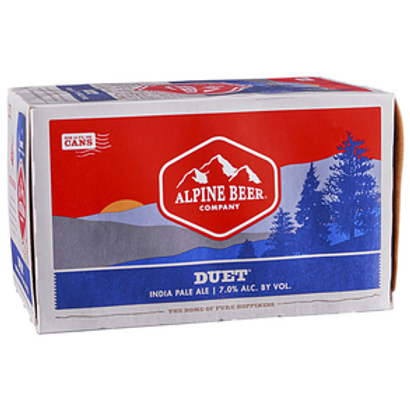 Alpine Duet IPA 6 Pack 12 oz Cans