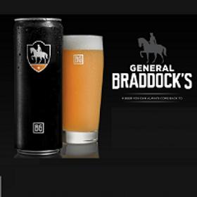Brew Gentlemen General Braddock 4 Pack 12 oz Cans