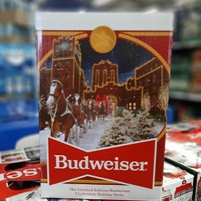 Budweiser 2020 Holiday Stein