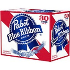 Pabst Blue Ribbon  30 Pack 12 oz Cans